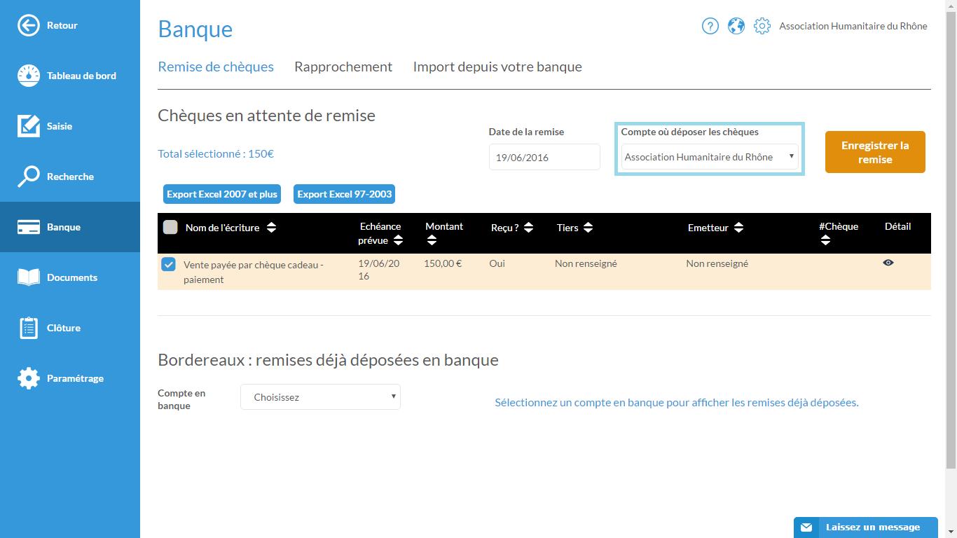 Bordereau Remise De Cheque Axa Banque Tools4pro Voucher